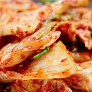 Making Kimchi in Korea