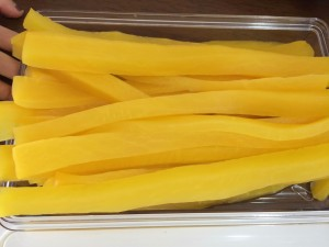 yellow pickles for kimbap