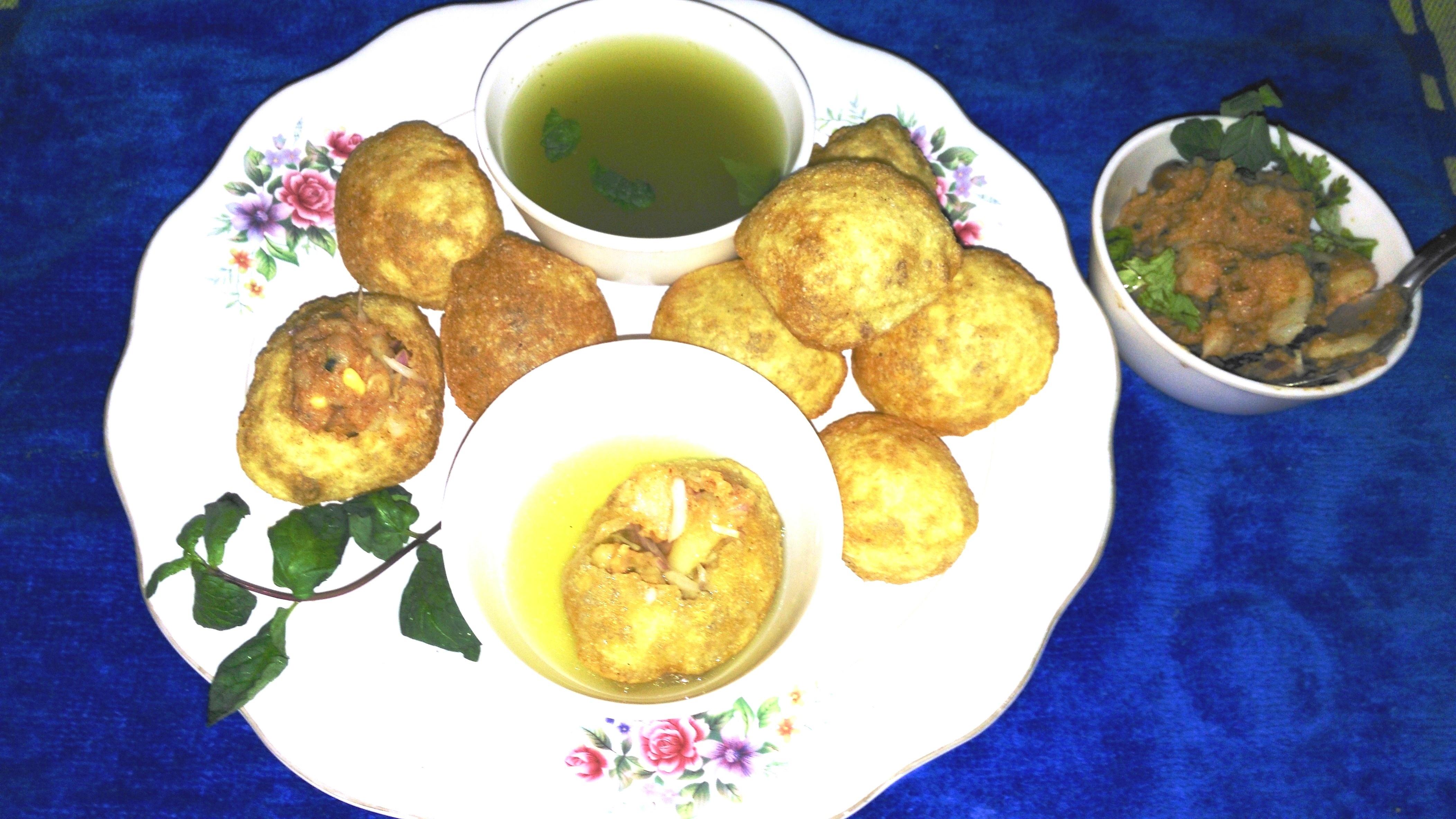Pani Puri Recipe India